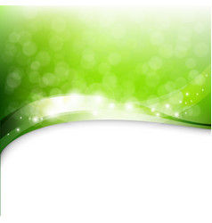 Eco green background vector