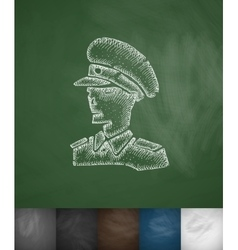 general icon Hand drawn vector image