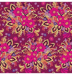 pattern bouquet vector image