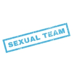 Sexual team rubber stamp vector