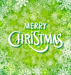 Merry christmas and happy new year handwritten vector