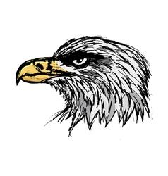 Bold eagle vector
