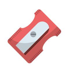 Sharpener school utensil icon vector