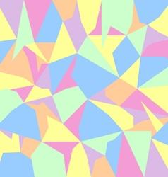 Pastel spectrum abstract polygon background vector