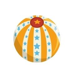 circus ball carnival vector image