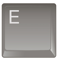 Standard keyboard key vector