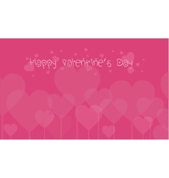 Art of valentine day backgrounds vector