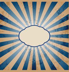 Vintage sunburst background vector