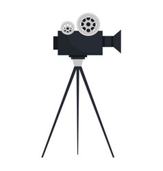 Video camera cinema icon vector
