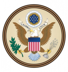 Usa seal vector