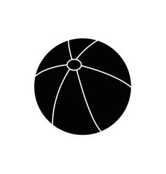 beach ball icon vector image