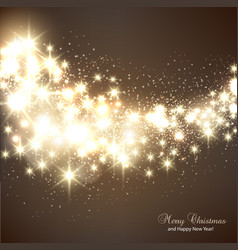 Christmas elegant snowflakes background vector image vector image