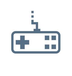 joystick linear icon vector image vector image