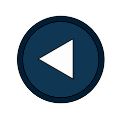 play button icon image vector image