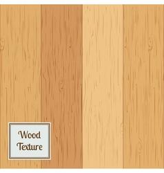 Wood texture set vector image