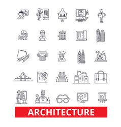 Architecture buildingconstruction design plans vector