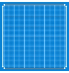 Blue square with a white grid vector