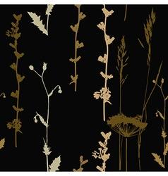 Grass pattern vector