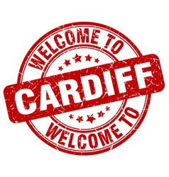 Welcome to cardiff vector