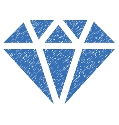 Diamond grainy texture icon vector