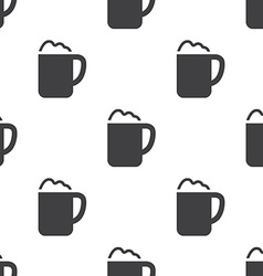 Cappuccino seamless pattern vector
