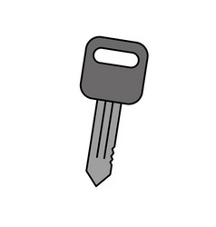 car key auto service repair isolated icon on white vector image vector image