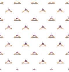 Coat hanger pattern seamless vector