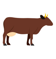 Cow icon isolated vector
