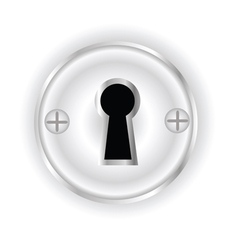 key hole vector image