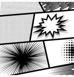 Monochrome dot background vector