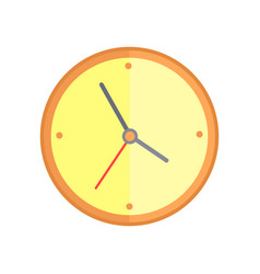 Round wall clock vector