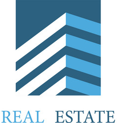 Real estate architecture icon vector