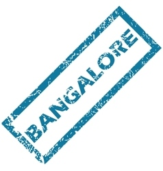 Bangalore rubber stamp vector
