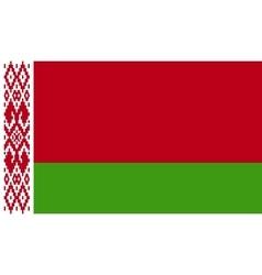 Belarus flag image vector image