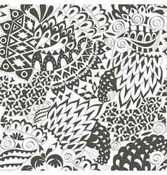 Vintage Ethnic Seamless Background Boho Pattern vector image