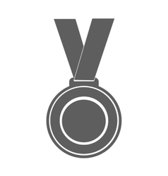 medal winner of the prize- on ribbon vector image vector image