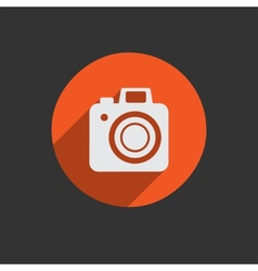 Element for web design photo camera vector