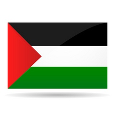 Palestine flag vector image