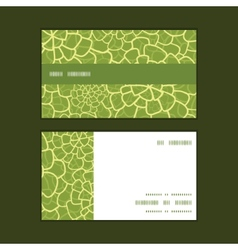 Abstract green natural texture horizontal vector