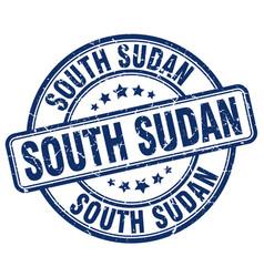 South sudan stamp vector