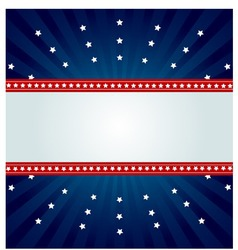 Star spangled banner vector