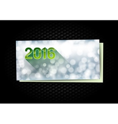 New year greetings card vector