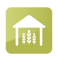 Barn icon farm vector