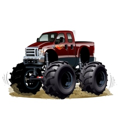 Cartoon Monster Truck vector image