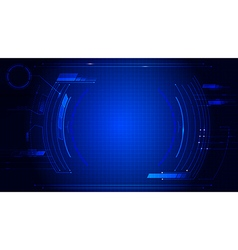 Technology abstract background dash board panel vector image vector image