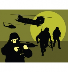 reconnaissance vector image