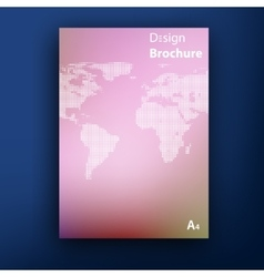 brochure booklet cover design templates vector image vector image