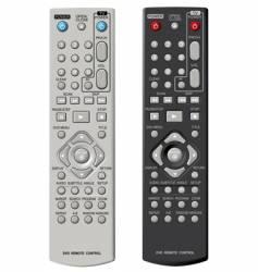 dvd remote control vector image vector image