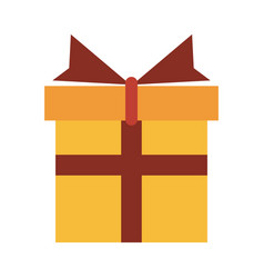 gift box icon image vector image vector image