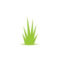 Grass leaf landscape icon element vector